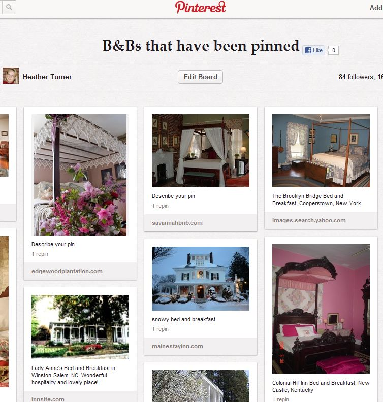 30 ideas for your bed and breakfast to pin on pinterest for Bed and breakfast plans and designs