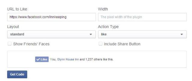 Facebook plugin 1